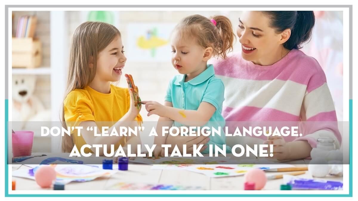 Webinar Recap Actually Talk in a Foreign Language