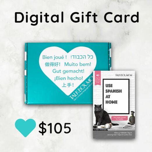 $105 TalkBox.Mom Digital Gift Card