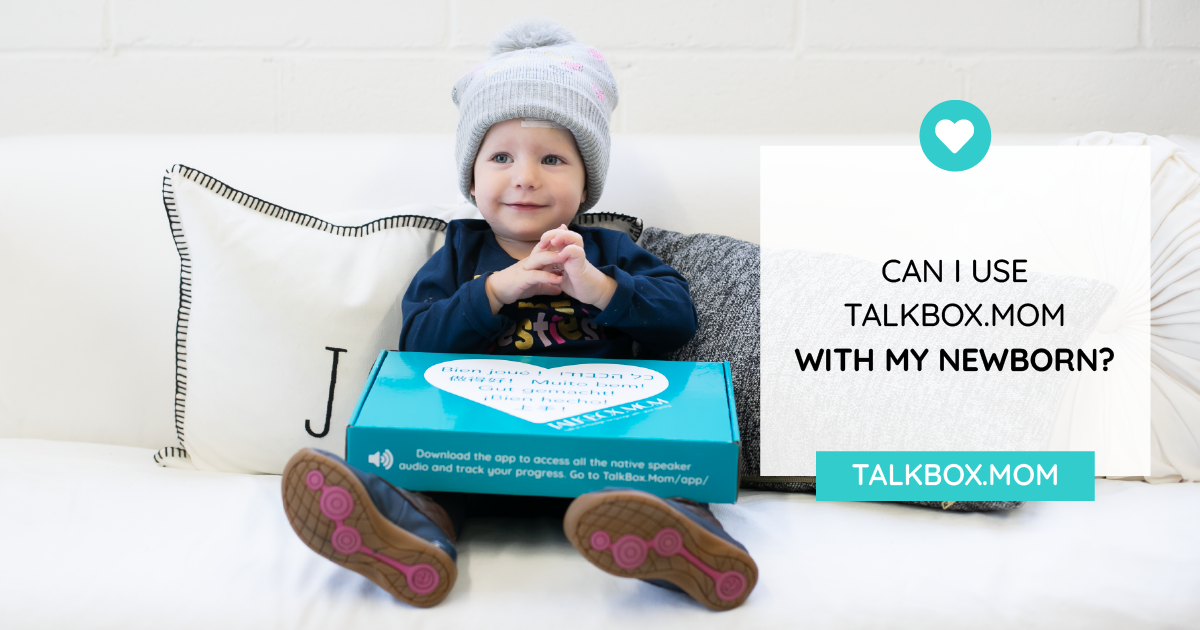 Can TalkBox.Mom be used with newborns BLOG-02