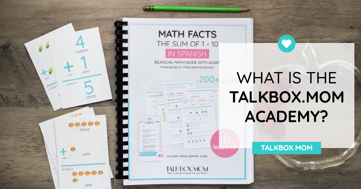 What is the TalkBox.Mom Academy-02-02